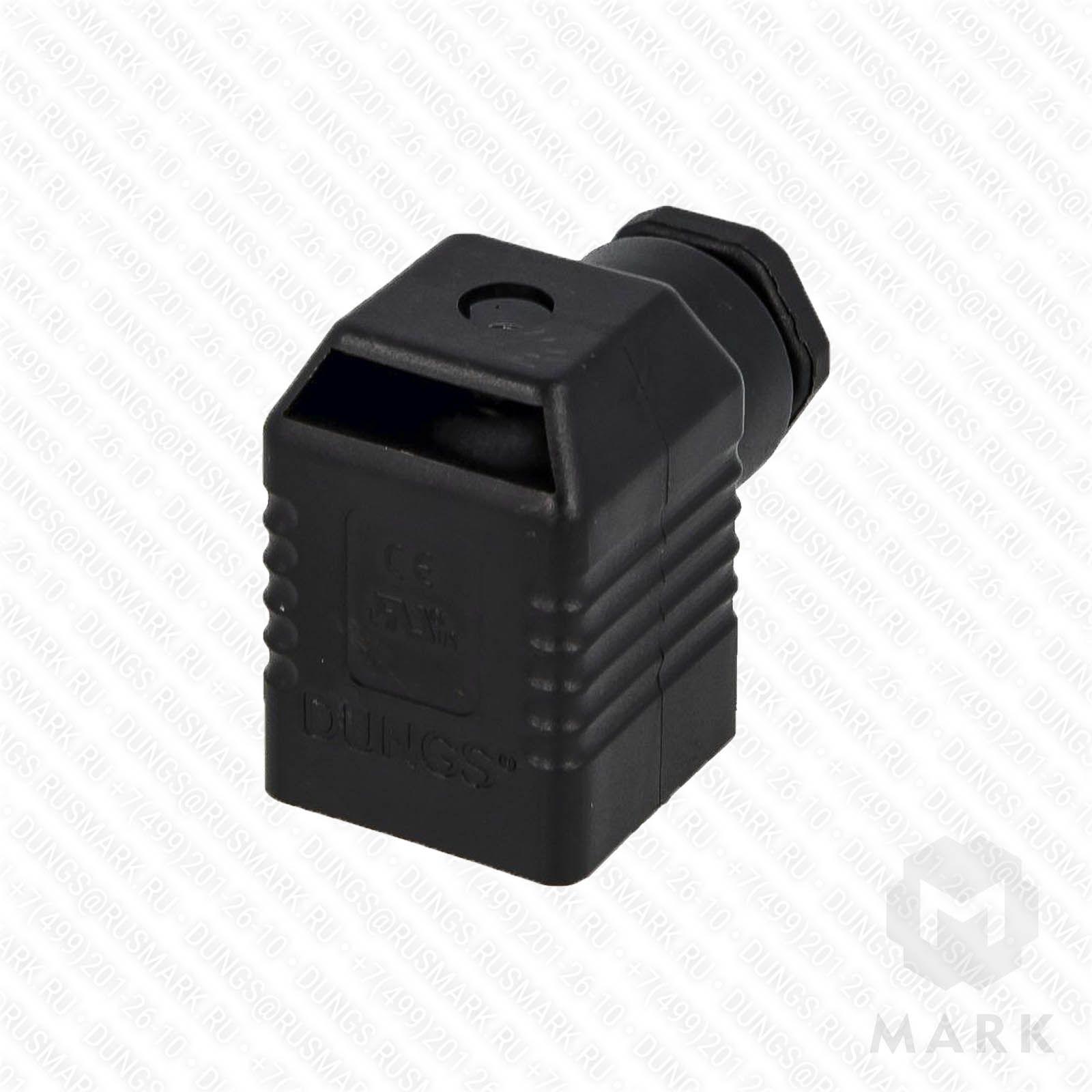 """full_148086_product арт.210319 Штекер для клапана 4-х контактный """"черный"""" фирмы DUNGS цена, купить"""